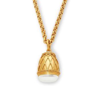 NWT Julie Vos pearl Byzantine Pendant